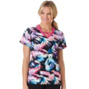 Women's Jockey Scrubs Printed Top