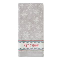 St. Nicholas Square® Through The Woods Let It Snow Hand Towel