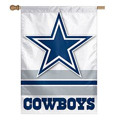 Dallas Cowboys Double-Sided Vertical Banner Flag