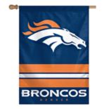 Denver Broncos Double-Sided Vertical Banner Flag