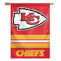 Kansas City Chiefs Double-Sided Vertical Banner Flag