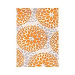World Rug Gallery Newport Modern Floral Circles Area Rug