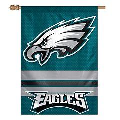 Philadelphia Eagles Double-Sided Vertical Banner Flag