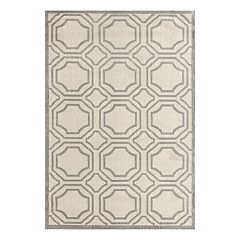 World Rug Gallery Newport Modern Geometric Area Rug