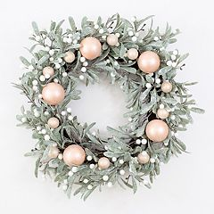 LC Lauren Conrad Artificial Botanical Christmas Wreath