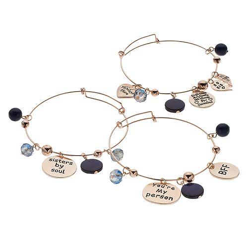 Soul Sisters Bangle Bracelet Set