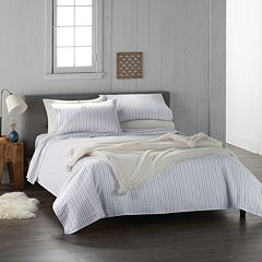 Cuddl Duds Home Printed Cotton Flannel Duvet Cover Set