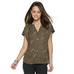 Women's Apt. 9® Button Front Dolman Top