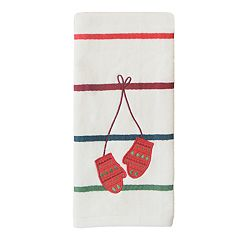 St. Nicholas Square® Through The Woods Mittens Hand Towel