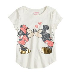 Disney's Mickey Mouse & Minnie Mouse Girls 4-10 Graphic Tee by Disney/Jumping Beans®