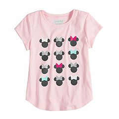 Disney's Minnie Mouse Girls 4-10 Graphic Tee by Disney/Jumping Beans®