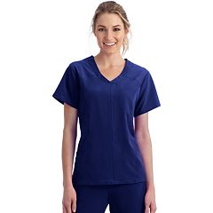 Plus Size Jockey Scrubs Peak Performance Top