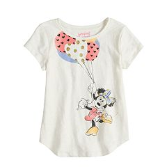 Disney's Minnie Mouse Girls 4-10 Balloons Graphic Tee by Disney/Jumping Beans®