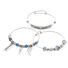 'Free Spirit' Bangle Bracelet Set