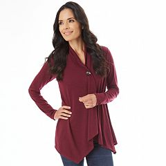 Women's Apt. 9® Button Wrap Cardigan