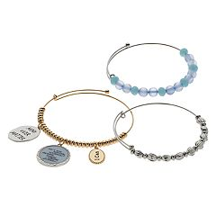 'Mind Over Matter' Bangle Bracelet Set