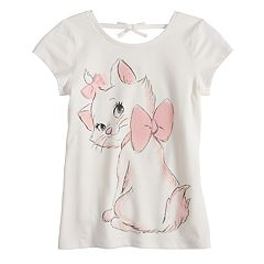 Disney's Aristocats Marie Girls 4-10 Faux-Tie Back Graphic Tee by Jumping Beans®