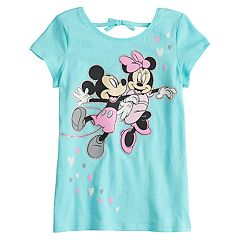 Disney's Mickey Mouse & Minnie Mouse Girls 4-10 Tie Back Graphic Tee by Disney/Jumping Beans®