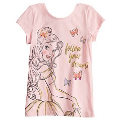 Disney's Beauty & The Beast Belle Girls 4-10 'Follow Your Dreams' Graphic Tee by Disney/Jumping Beans®