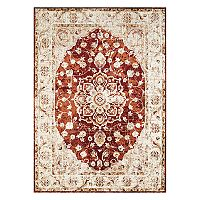 United Weavers Bridges Ponte Vecchio Framed Floral Rug