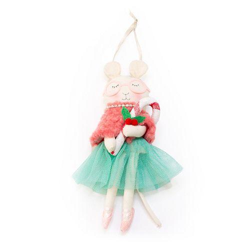 cba815710de LC Lauren Conrad Mouse Candy Cane Christmas Ornament