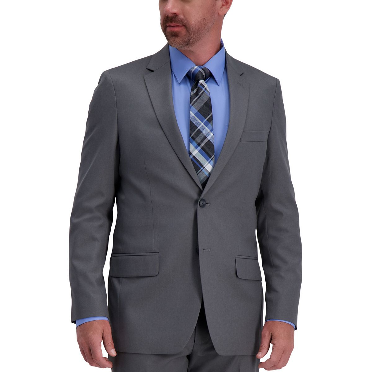 Men's Haggar Active Series Classic-Fit Suit Separates VGbaW