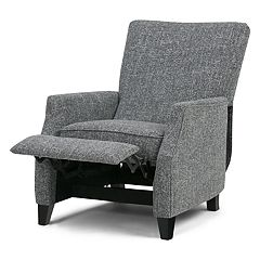 Simpli Home Noah Push Arm Recliner