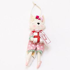 LC Lauren Conrad Fox Christmas Ornament
