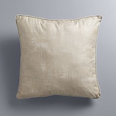 Simply Vera Vera Wang Metallic Textured Throw Pillow