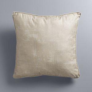 Simply Vera Vera Wang Metallic Textured Throw Pillow