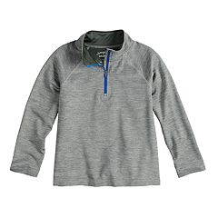 Boys 4-12 Jumping Beans® Active Quarter Zip Lightweight Pullover
