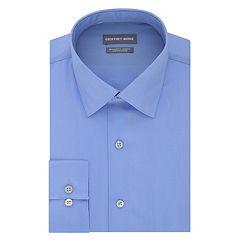 Men's Geoffrey Beene Regular-Fit Stretch Spread-Collar Dress Shirt