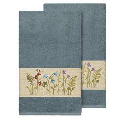 Linum Home Textiles Serenity Embellished Bath Towel Set
