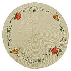 Celebrate Fall Together Pumpkin Placemat