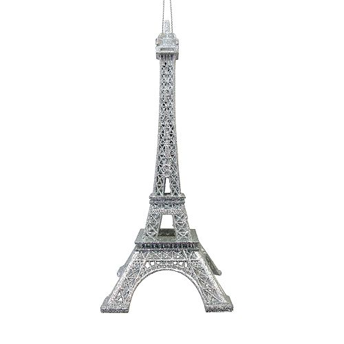Paris Christmas Ornament.Lc Lauren Conrad Silver Finish Eiffel Tower Paris Christmas