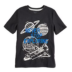 Boys 4-12 SONOMA Goods for Life™ Space 'Never Stop Exploring' Graphic Tee