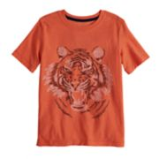 Boys 4-12 SONOMA Goods for Life? Tiger Words Slubbed Graphic Tee