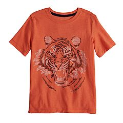 Boys 4-12 SONOMA Goods for Life™ Tiger Words Slubbed Graphic Tee