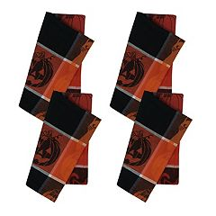 Celebrate Halloween Together Halloween Plaid Napkin 4-pack