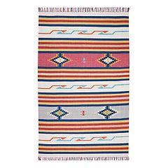 Nourison Baja Kilim Reversible Area Rug