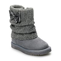 Jumping Beans Odessa Toddler Girls Sweater Boots
