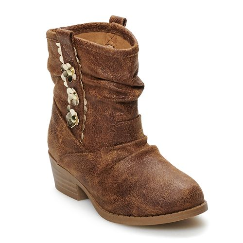 Jumping Beans® Sallie Toddler Girls' Western Boots