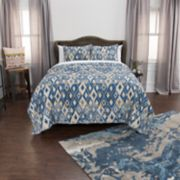 Rizzy Home Maddux Place Asher Geometric Quilt Set