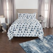 Rizzy Home Maddux Place Flint Geometric Quilt Set