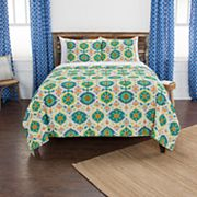 Rizzy Home Maddux Place Franky Geometric Quilt Set
