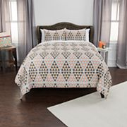 Rizzy Home Maddux Place Tommy Geometric Quilt Set