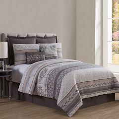 VCNY Home Mateo Jacquard 8-piece Comforter Set