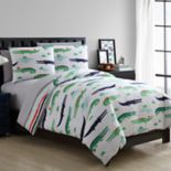 Kids VCNY Home Croc Bedding Set