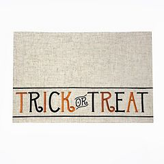 Celebrate Halloween Together 'Trick or Treat' Placemat