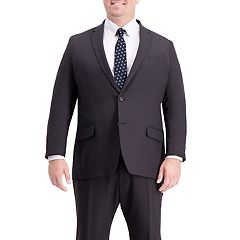 Big & Tall Active Series Classic-Fit Herringbone Suit Jacket